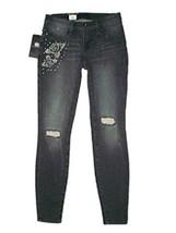 Women's Rock & Republic Kashmiere Rose Destructed Legging Skinny Jeans US 2