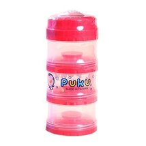 Baby Convenient Food Storage Toddler Mike Powder Carry-Out Box RED image 1
