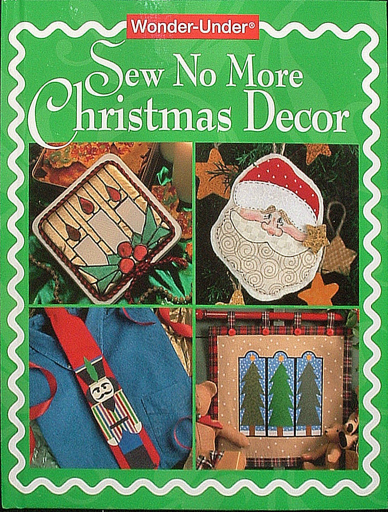 Sew No More Christmas Decor Book