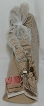 Simply Noelle Brand Tan Taupe Color Floral Leaf Pattern Womens Purse image 2