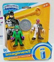 Imaginext DC Super Friends: The Riddler & Two-Face Figures New - $11.76