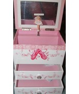 Ballerina Musical Jewelry Box Plays Waltz of the Flowers Spinning Baller... - $24.99