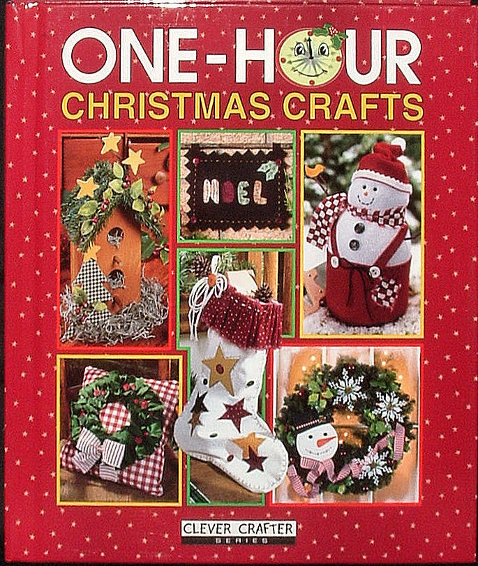 One Hour Christmas Crafts Book