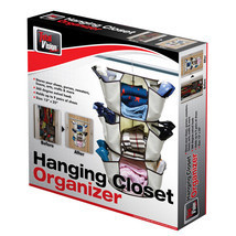"Hanging Closet Organizer 13"" diameter x 27¼"" high - $7.95"