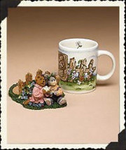 "Boyds Bears Accessory- MUG- ""Amanda & Carly... Forever Friends""  #390524 -NIB - $24.99"