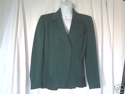 Green Ladies Jacket