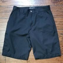 Mens Callaway Black Golf Shorts Sz 30 Inseam 10 Euc - $12.86