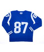 Colts Blue & White Colors – Unisex V-Neck Sweater #87 – 24Ct - $285.24