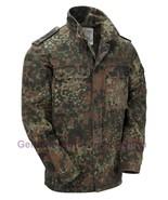 GENUINE VINTAGE ORIGINAL ISSUED GERMAN ARMY MILITARY FLECKTARN SHIRT GR... - $19.12