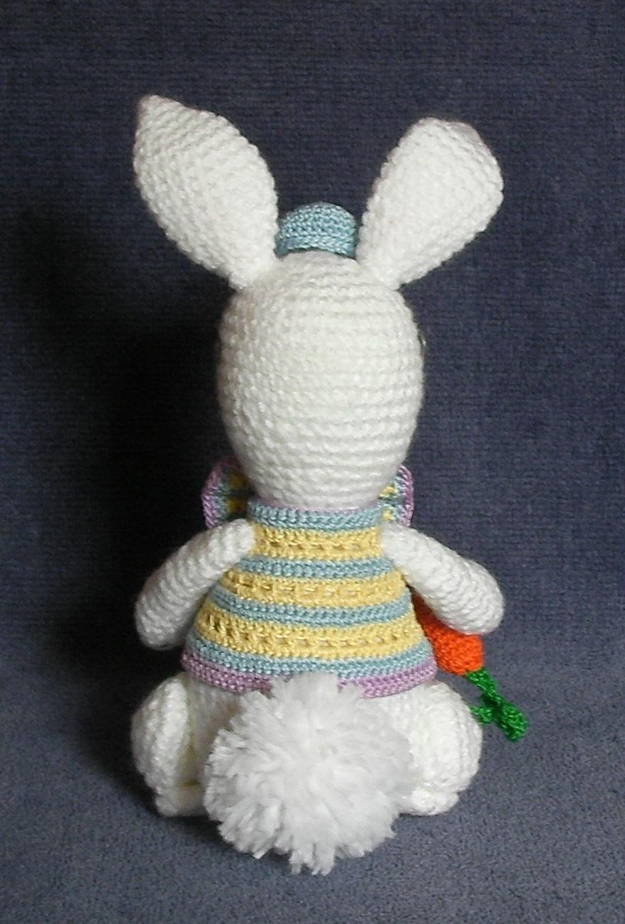 CROCHET PATTERN - Grandpa Easter Bunny, rabbit, stuffed animal, amigurumi
