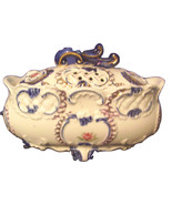 Vase and Lid Antique Royal Grace - $13.95
