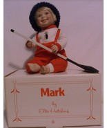 Porcelain Doll Mark Hockey Player By Danbury Mi... - $19.95