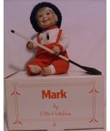 Porcelain Doll Mark Hockey Player By Danbury Mi... - $16.95