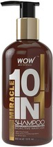 WOW Miracle 10 in 1 No Parabens & Sulphate Shampoo, 300mL - $21.99