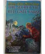 Nancy Drew #6 THE SECRET OF RED GATE FARM hcdj ... - $75.00