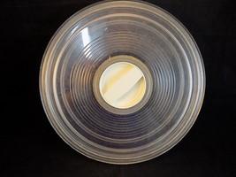 "Lrg Plastic Doughnut Shaped Twist Lock Storage Container 11.5"" 1.5"" T Tu... - $11.87"