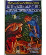 Nancy Drew #18 MYSTERY AT THE MOSS-COVERED MANS... - $75.00