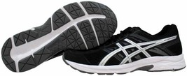 Asics Gel Contend 4 Black/Silver-Carbon T716N 9093 Men's Size 10 4E - $70.00