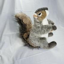 FolkManis Squirrel Plush Hand Puppet Holding Nut - $14.03