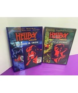 Hellboy Animated DVD Lot of 2 Blood Iron and Sword of Storms - $9.89
