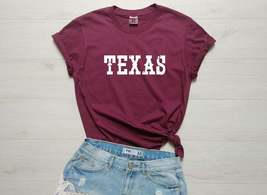 Texas Shirt, Texas T-Shirt, State Shirt, Graphic Shirt, Saying T-Shirt, ... - $14.99