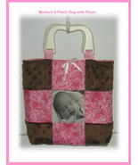 *Customized 9-Patch Bag with Optional Center Ph... - $30.00