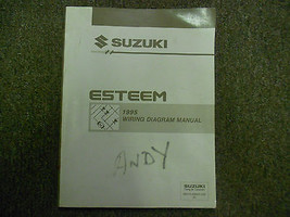 1995 Suzuki Esteem Wiring Diagram Shop Manual Factory Feo Book 95 Dealership - $19.76