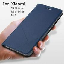 Hand Made Xiaomi Mi 8 Lite SE A2 A1 6X 5X 5S 5 6 Leather Case Max 3 2 Flip Card - $14.04