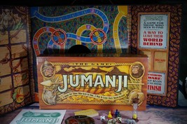 Jumanji Board Game 4407 Milton Bradley 1995 Game That Pursues You (Compl... - $26.54