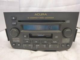 03 04 Acura MDX Bose Radio 6 Disc Cd Cassette & Code 39100-S3V-A330 RQV80 - $48.26