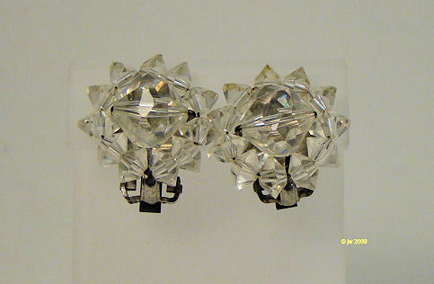 Lot of 3 Silvertone Clip Earrings