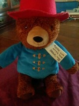 "Paddington Bear Kohls Cares Plush 14"" Teddy Blue Red Hat 2016  - $12.86"