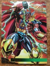 Marvel Annual 1995 Flair #111 Thor Single Card - $4.99