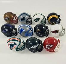 NFL Mini Football Helmets Pocket Size Lot of 11 Teams  - $7.99