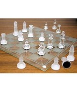Maxam™ 33pc Glass Chess Set - $29.95