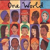 One World adv CD Putumayo Bob Marley Gipsy Kings Capercaillie Papa Wemba Kotoja