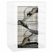 Small Animal Pet Steel Ramp Conversion 3 Piece Kit for Cages Cat Bird Fe... - $49.39