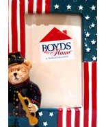 "Boyds Home-Photo Frame ""MASON"" #62575SM-BBC Exclusive-Ceramic-2004-NIB - $19.99"