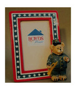 "Boyds Home-Photo Frame ""DIXON"" #62576SM-BBC Exclusive-Ceramic-2004-NIB - $19.99"