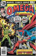 Omega The Unknown Comic Book #4 Marvel Comics 1976 FINE+ - $4.99