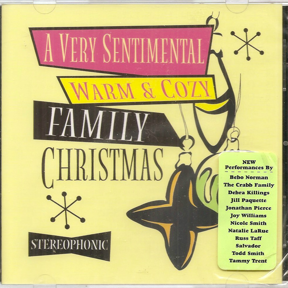 Very Sentimental Warm Cozy Family Christmas sealed CD Christian Selah Russ Taff