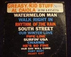 Al Caiola Guitar & Orchestra - Greasy Kid Stuff - United Artists UAL 3287