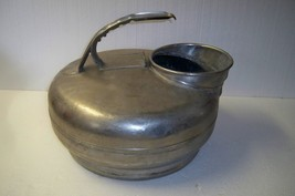 VINTAGE SURGE MILKER STAINLESS CONTAINER BUCKET PAIL MILK CAN COWS GOATS - $33.85