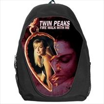 backpack school bag Twin peaks fire walk with me - $39.79