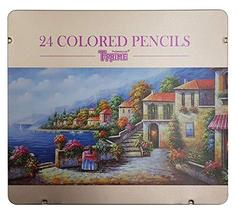 TT Art T-Prime Professional Wooden Colored Pencils 24 Colors Set