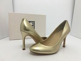 Ivanka Trump Janie Women's High Heels Pumps Shoes Gold Leather Size US 6.5 M - $33.66