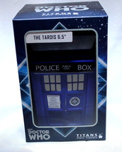 "Doctor Who TARDIS 6.5"" Vinyl Figure NEW Sealed NIB Titans - $28.05"
