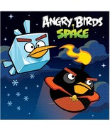 Angry Birds Space Dessert Beverage Napkins 16 Count Birthday Party Suppl... - $3.22