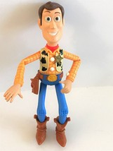 "1996 Mattel Toy Story Sheriff Woody 6.5"" Roundup Toy - $14.01"