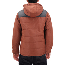 Men's Heavyweight Water And Wind Resistant Removable Hood Insulated Jacket image 13